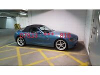 BMW Z4 2.2 SE (2003) ¦ AC Schnitzer Alloy Wheels (19in) ¦ Parrot MKi9200 Bluetooth ¦ MOT'd Sept '17