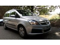 **LOW MILEAGE** 2006 VAUXHALL ZAFIRA 1.8i 16v LIFE EASYTRONIC AUTOMATIC 7 SEATER **12 MONTHS MOT**