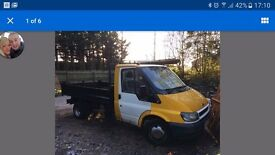 Ford tipper 43000 1 owner no mot worth a look