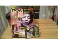 Total guitar mags and cds 1-53