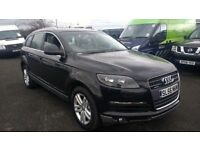 audi q7 se quattro tdi 3.0 2006 56 plate metallic black ml x5 toureg