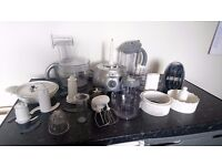 Kenwood Multi Pro Silver FP698 + All Accessories, Instuctions & Cookbook Hardly Used