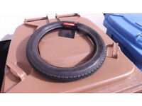 Tyre for child's bike or pram - 14x1.75 inch, 47-254. Free to good home.