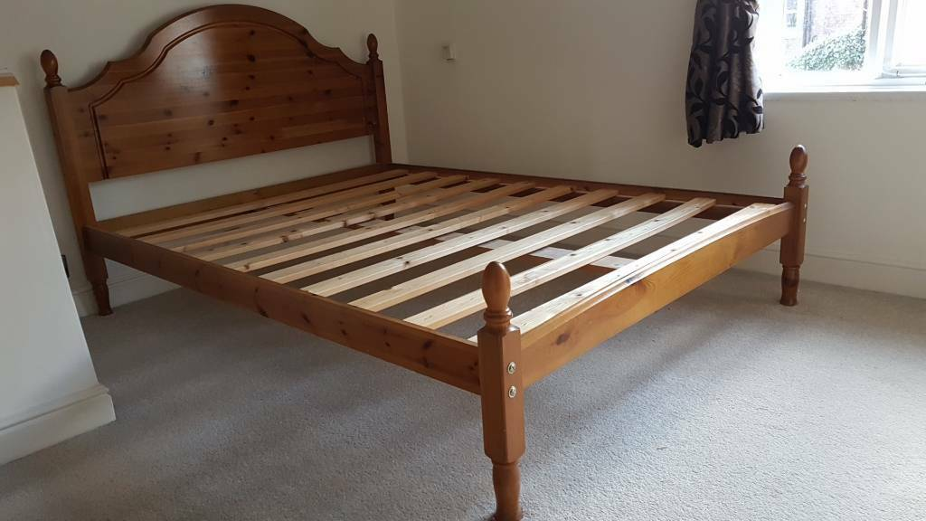 Pine Bed Frame In Lymm Cheshire Gumtree