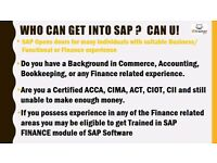 ARE YOU ACCA, CIMA,FCCA, AAT, EARN UPTO £450 PER DAY, GET TRAINED IN SAP FINANCE