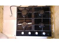 Gas Hob, Cooke and Lewis Smoked Glass Base CLGH2BK-C 4
