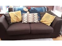 DFS Sofabed very good condition in chocolate brown colour. Bed hardly used £200 ono