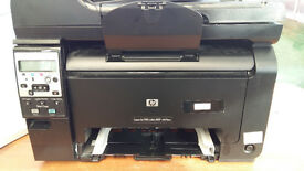 HP LaserJet Pro 100 Colour MFP M175nw Packed to send weighs <19Kg 55x45x50cm