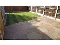 Grass cutting, hedge cutting, all aspects of landscaping completed by Finney's Paving and Landscapes