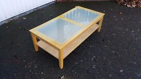 Coffee Table Frosted Glass Inserts 120cm FREE DELIVERY 009