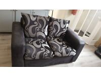 Small 2 seater sofa and armchair £40