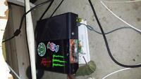 Xbox 360 with a ton of games
