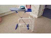Children's ironing board set