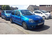 Renault Sport Clio 182 16V in Arctic Blue 2005 - Not Civic ST Type-R VXR VRS. Reduced!!!