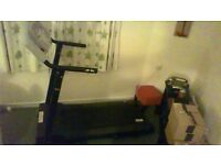 V-Fit Treadmill (electric). Overall very good condition