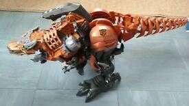 Transformers Stomp and Chomp Grimlock dinosaur Edge of Extinction