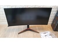 LG 34UC79G Curved Ultrawide Gaming Monitor 144Hz 34inch; IPS