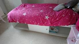 Argos child bed with matress