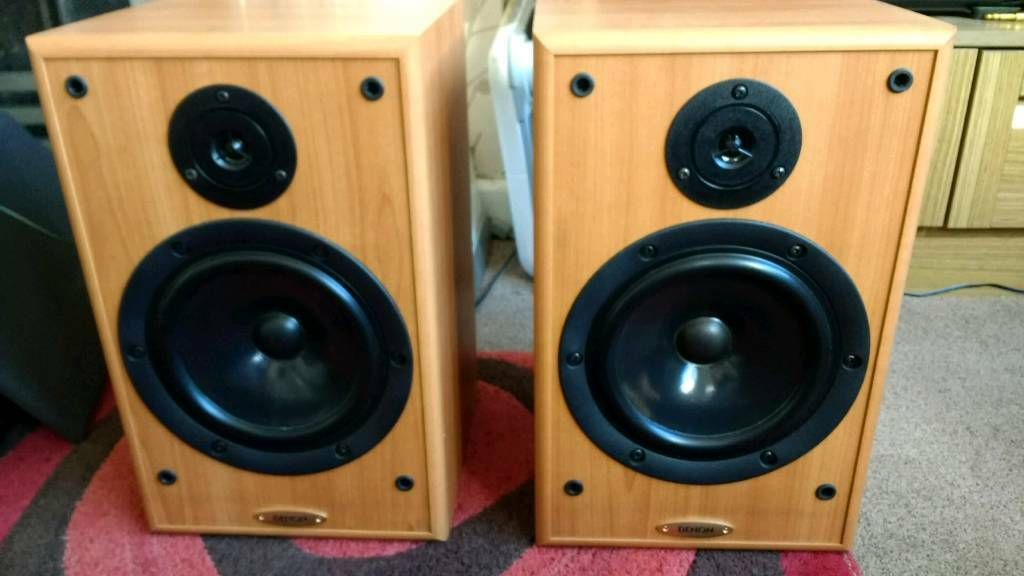 Denon SC E313SE Bookshelf Speakers