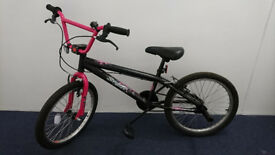 Pink and Black BMX (near new condition)