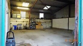 UNIT TO LET /STORAGE or WORKSHOP (Just of EDINBURGH CITY BYPASS)