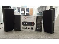 Polycom AA185004-M Powered Sub-Woofer and Speakers 2.1 Sound System