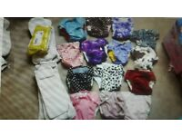 14 x Reuseable nappies - 1-2yr old