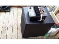 Sub speaker and amp
