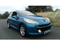 **LOW MILEAGE** 2007 PEUGEOT 207 S 1.4 PETROL 5 DOOR HATCHBACK **12 MONTHS MOT+RECENT SERVICE**