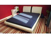 Modern Italian Kingsize Bed with 3000 Memory Pocket Mattress