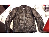 Lookwell Yamaha leather jacket and trousers