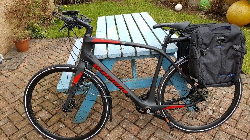 Carbon Fibre Hybrid Bike