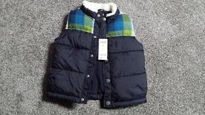 Gymboree Vest - BRAND NEW WITH TAGS 2-3T