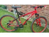 Ladies specialized hardrock mountain bike as new
