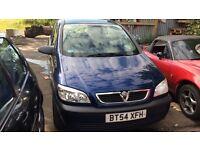 2005 Vauxhall Zafira Life 16v Auto MPV Petrol 1.8L Blue BREAKING FOR SPARES