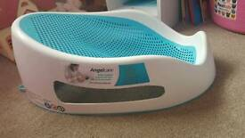 Angelcare Soft Touch Baby Bath Support - Aqua