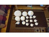 Spode Golden Eternity Bone China tea/dinner set