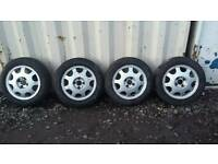4x100 alloy wheels corsa C, combo etc