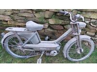 Vintage Retro Peugeot BB Moped Mobylette 50cc Restoration Project Classic French Quirky Fun