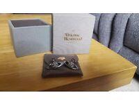 Boxed Vivienne Westwood orb earrings