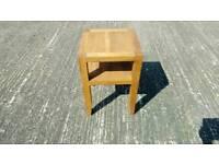 Beach wood table