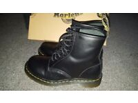 Almost New Dr. Martens 1460 Boots Size 6