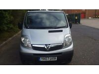 VAUXHALL VIVARO 2.9T 2.0 CDTI 115 SWB PANEL VAN. SILVER. MOT MARCH 2017. GOOD SERVICE HISTORY.
