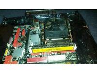 CPU MOBO AND RAM BUNDLE