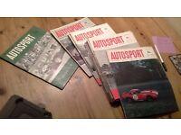 23 Vintage Autosport weekly magazines