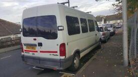minibus Renault Master 2.5 D (x70) Bus (LWB6/7/8/9/10/11/12/13, 14 Seat)