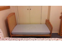 Babies R Us Cotbed - Toddler Bed With Waterproof Mattress