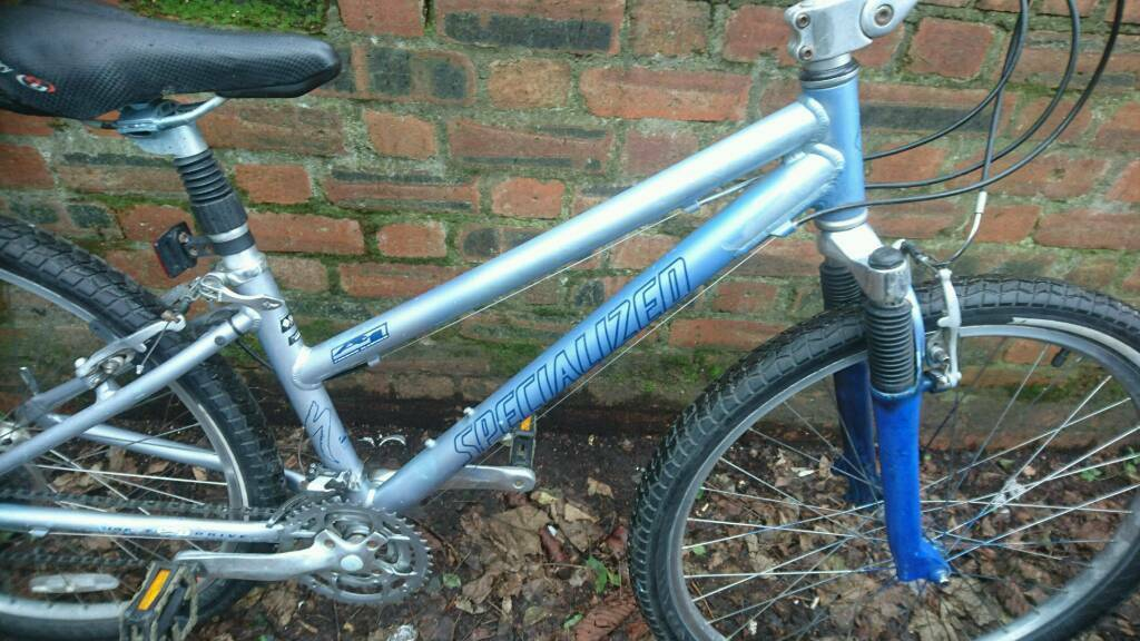 SPECIALIZED LADIES MOUNTAIN BIKE 16 INCH FRAME 26 INCH WHEELS 18 GEARS, GOOD CONDITIONin Hillhead, GlasgowGumtree - SPECIALIZED LADIES MOUNTAIN BIKE, 16 INCH FRAME, 26 INCH WHEELS, 18 GEARS, GOOD TYRES GEL SEAT, SUSPENSION, GOOD TO GO, PLEASE PHONE OR TEXT, THANKS CRAIG