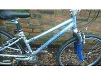 SPECIALIZED LADIES MOUNTAIN BIKE 16 INCH FRAME 26 INCH WHEEL'S 18 GEARS, GOOD CONDITION