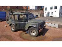 Ex-MOD Land Rover Defender